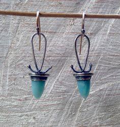 Julianne Van Buskirk Sterling silver, Amazonite
