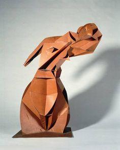 Naum Gabo, Konstruktiver Torso, 1917/18, Modell, © Nina Williams