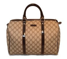 Gucci Monogram Canvas Speedy Bowler Handbag Brown Tote Bag. Get one of the hottest styles of the season! The Gucci Monogram Canvas Speedy Bowler Handbag Brown Tote Bag is a top 10 member favorite on Tradesy. Save on yours before they're sold out!