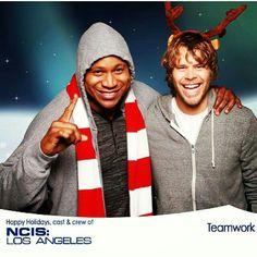 Sam & Deeks #NCIS:LA