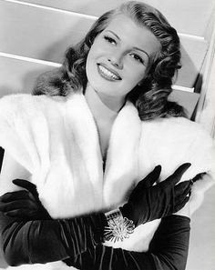 Rita Hayworth---look at that face! Simply gorgeous!