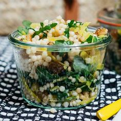 Green & Gold Couscous