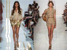 Summer shorts by Diane von Furstenberg and Michael Kors / Madeleine's Dream blog