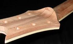 Image result for guitar neck scarf joint
