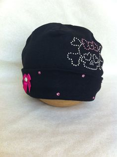 Baby Skull Rocker Beanie. $11.00, via Etsy.