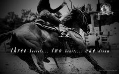 barrel racing <3