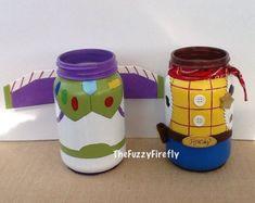 Inspirado en hechos a mano Woody de Toy Story centro de mesa