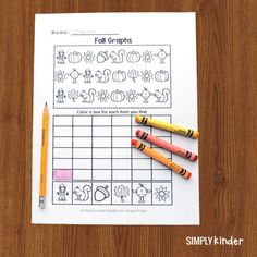 Keep math prep to a minimum with these FREE Fall math worksheets. We've included pattern work, a simple graphing exercise, and comparing two numbers. #kindergarten #freeprintablesforkids #mathworksheets #fallactivities Kindergarten Teachers, Kindergarten Activities, Numbers Kindergarten, Teaching Calendar, Graphing Worksheets, Autumn Activities, Math Centers, Curriculum, Halloween Stuff