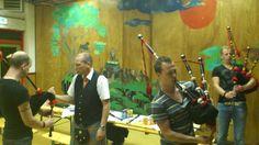 Bagpipe workshop