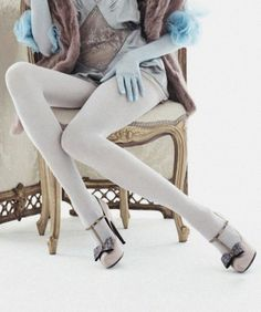 Vogue China September Detail of Kati Nescher in Lanvin Louis Vuitton, Luxurious Intimates by Willy Vanderperre. Vogue China, Robins Egg, Lanvin, Stockings, Louis Vuitton, September 2013, Lollipops, Legs, Luxury