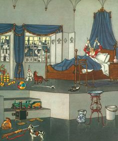 """Vittorio Accornero, illustrazione per """"Le avventure di Pinocchio. Storia di un Burattino"""" di Carlo Lorenzini (Collodi). Edizione Mursia, 1964."""