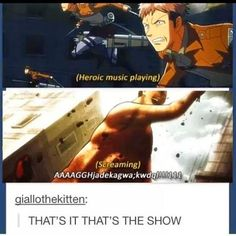 The Otaku Files: Meme Book: Attack On Titan (Shingeki no Kyojin) Armin, Levi X Eren, Levi Ackerman, Attack On Titan Funny, Attack On Titan Anime, Hetalia, Mega Anime, Aot Memes, True Memes