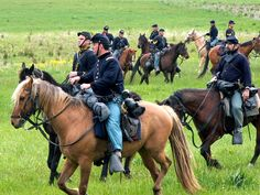 2nd US Cavalry.  Double click on image to ENLARGE. Western Movies, American Civil War, Old West, Young Boys, Riding Helmets, 19th Century, Battle, Rolling Thunder, Civil Wars