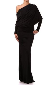 City Skylines Reversible Long Sleeve Maxi Dress - Black ...In love with this!!!