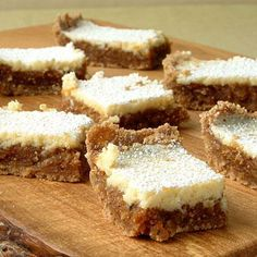 Fig and Cream Cheese Bars | Cookinglight.com