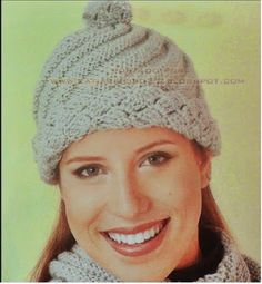 PATCHFLOR: Gorro tricot e crochet