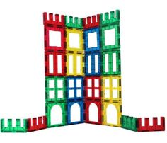 #SHapeMags  Windows and Door Set Magnetic Stick N Stack, Windows and Door Set 16 3x3'' Windows & Doors with 6 Fences. Fully compatible with other brands.  https://www.toys2discover.com/collections/shape-mags/products/magnetic-stick-n-stack-windows-and-door-set-24-pieces