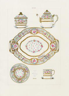 Edouard Garnier Porcelain of Sevres 1889