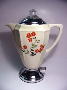 1920s Art Deco Samson electric coffee perker