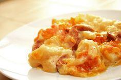GF Cheesy Potato Sausage Bake