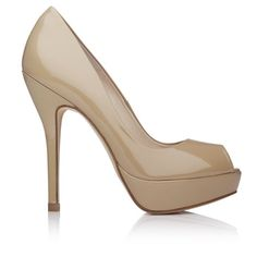 Mocha Latte (Beige) Pumps - always a good choice!      Just like the Mocha Latte FIAT 500