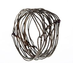 KIKA ALVARENGA, INTERTWINED BRACELET: