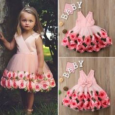 Girls Bridesmaid Dresses, Baby Girl Dresses, Baby Dress, Kids Ethnic Wear, Newborn Girl Outfits, Princess Girl, Baby Girl Romper, Party Gowns, Dress With Bow