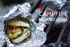 Campfire Breakfast Bagel Recipe