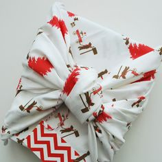 Holiday Cheer Fabric - contemporary - fabric - - by Le Papier Studio