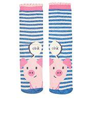 Piggy Cow Face Sock