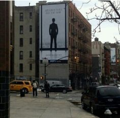 Billboard in New York -CEO Christian Grey