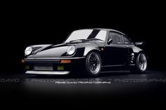 Blackbird - Porsche 911 (930) Turbo - Wangan Midnight - AU… | Flickr