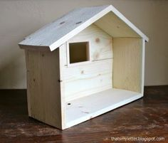Ana White | Build a Wood Manger - $3 | Free and Easy DIY Project and Furniture Plans