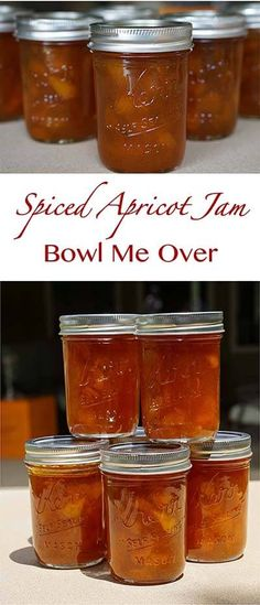 Spiced Apricot Jam - Bowl Me Over