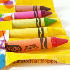 Taking Time To Create: Duct Tape Crayon Roll {And My Secret Obsession}