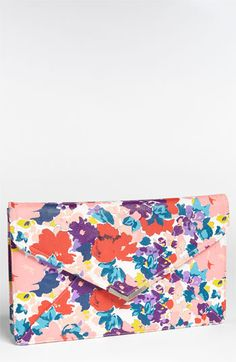 Lulu Floral Clutch available at #Nordstrom