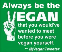 Many thanks to Vegan Tweeter for this inspired (and inspiring) tweet!