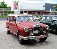 Mercedes 180 Kombi, Mercedes-Benz W 120 , beim Mercedes Treffen am Aachener…