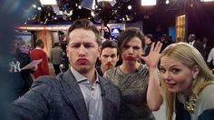 Once upon a time cast on GMA