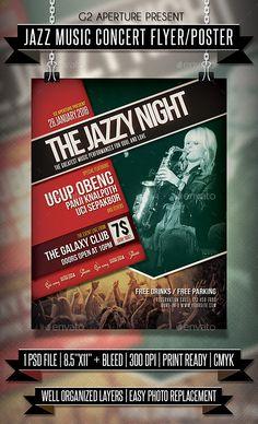 Rock Concert Free Psd Flyer Template  Facebook Cover  Http