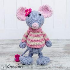 mouse baby amigurumi - Cerca con Google