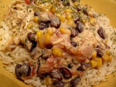 Rita's Recipes: Crock Pot Cream Cheese Chicken Chile EL: my husband loves this! It is really easy and he really enjoys it for at least 4 days.
