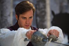 Inspiration Vale Frost - Armie Hammer