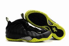 Air Foamposite One Black Green