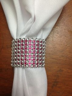 DIY Wedding Toilet Paper Bling Napkin Rings