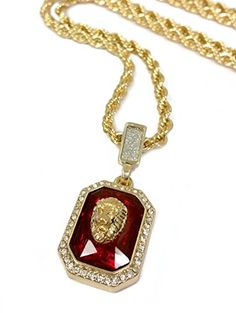 Bling bling iced out ruby cz pendant chain 24k gold plated square bling bling iced out ruby cz pendant chain 24k gold plated square red black blue ruby pendant chain hip hop menwomen necklace fashion pinterest mozeypictures Choice Image