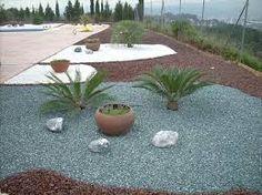 resultado de imagen de jardines con grava