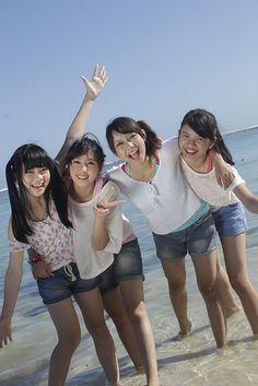 Cindy Yuvia, Rezky Wiranti Dhike, Viviyona Apriyani, Ratu Vienny Fitrilya #JKT48 #AKB48