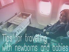 international air travel with newborns and babies