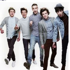 """My nieghbor found out about me loving One Direction so she said """"EW! I hate Them they are ugly"""" and so I said """"You do not know what you are talking about they are gorgeous"""" I win."""